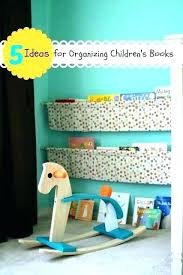 clever ways to and display your books kids book storage ideas 5 for organizing in childrens box t