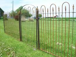 solid metal fence panels. 5 Tall Interlocking Wrought Iron Fence Panel Click To Enlarge Solid Metal Panels E