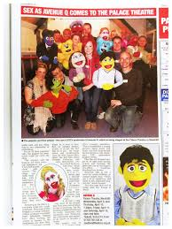 "YOU'D BE A MUPPET TO MISS AVENUE Q !"" Read all about the cult show in  today's Echo. Still time to get tickets! Best availability Friday 5p… 