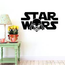 darth vader wall decal star wars wall decal vinyl sticker boys bedroom wall decor star wars
