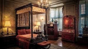 Retro Stil Schlafzimmer Kronleuchter Lampe Bett Fenster