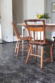 diy new england splatter painted floors