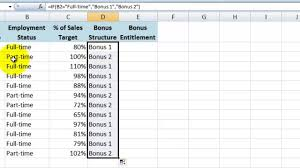 How To Do A Basic If Then Statement In Excel 2007 Youtube