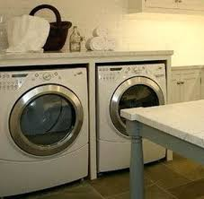laundry room ideas countertop clothes washer washing machine over dryer countertop clothes washer