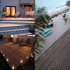 outdoor deck lighting. Outdoor Deck Lighting Ideas Unique Fashion Recessed Led Fence Lights Under D