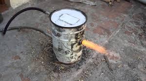 Gasifier Burner Design Biomass Rql Gasification Burner Demo Model 10 Kwatt
