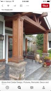 Pillars For Home Decor 17 Best Ideas About Front Porch Pillars 2017 On Pinterest Porch