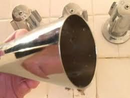 diy replace a twist off bathtub spout faucet by danco