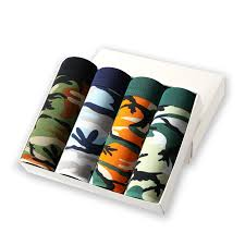 <b>Bamboo</b> Fiber <b>Underwear Men Brand</b> 2019 Camouflage 4Pcs/lot ...