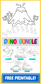 FREE* Dinosaur Coloring Pages | Kid Blogger Network Activities ...