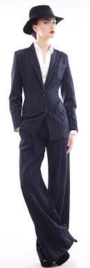 best ideas about pant suits women s pant suits man style navy blue stripe wool and viscose blend pants suit