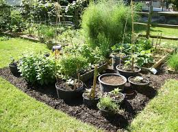 Garden Design Garden Design With Potted Plants Potted Plant Ideas Container Garden Ideas Full Sun