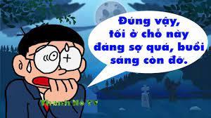 Phim Hài Chế Doremon - HAI CON MA | Doremon Chế Kinh Dị Hài - YouTube