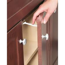 Safety 1st Cabinet Lock Safety 1st Cabinet And Drawer Latches 7 Pack 48444 The Home Depot