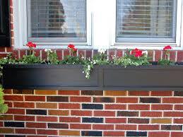 exterior shot of window box