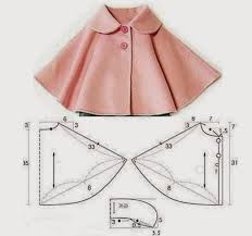 Childs Cape Pattern Fascinating DIY Clothing Kids Tutorials CAPE FOR CHILD Fashion And Sewing