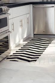 black and white striped kitchen rug  rugs ideas