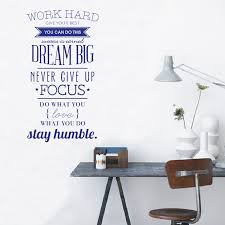 100x56cm wall art wall stickers wall decals quotes work hard vinyl wall stickers letters decorations office hghdws001 in wall stickers from home garden on  on adhesive wall art letters with 100x56cm wall art wall stickers wall decals quotes work hard vinyl