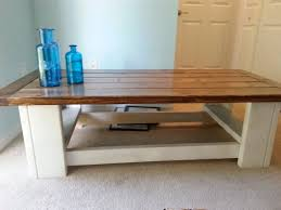 solid wood hand made coffee table
