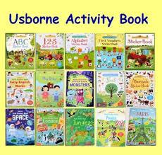 restock 3 july usborne activity book children book gift educational pre