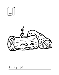 logging coloring pages logs alphabet coloring pages free alphabet coloring pages of
