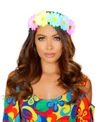 Roma Costume Size Chart Details About Light Up Flower Headband Roma Costume 4882