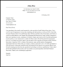 Sales Specialist Cover Letter Professional Sales Specialist Cover Letter Sample Writing Guide