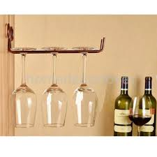 ... Large-size of Antique Wine Glass Hanging Rack Stemware Rack Wooden Stemware  Rack Wine Glass ...