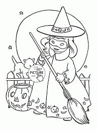 Small Picture Coloring Pages Download Coloring Pages Halloween Witches Coloring