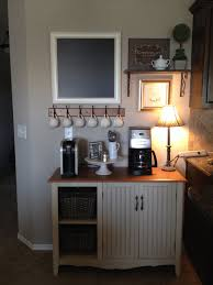 coffee station furniture. Rustic Coffee Station #Coffee (Coffee Bar Ideas) Tags: Ideas, Kitchens, Small #Wood Furniture