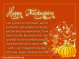 Quotes About Thanksgiving Enchanting Thanksgiving Love Quotes For Her Thank You Sayings