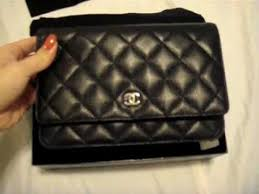 Classic Chanel WOC in Caviar - YouTube & Classic Chanel WOC in Caviar Adamdwight.com