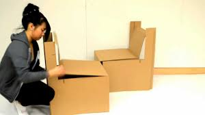How To Make A Cardboard Chair #7856