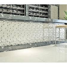 silver plated porcelain mosaic tile white crystal glass mosaic kitchen mirror wall tile bathroom backsplash wall