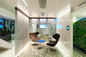 office seating area. Mod Furnishings And A Shag Rug In Casual Seating Area Help The Office Look Anything Y