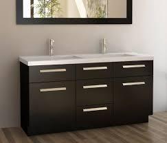 usa tilda single bathroom vanity set: design element moscony double sink vanity set with espresso finish  inch