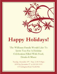 christmas invite templates christmas invite templates email