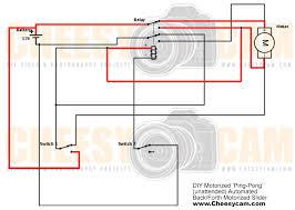cheesycam schematic ping pong motorized slider