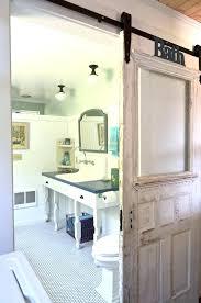 glass barn door for bathroom barn door pocket door glass barn doors bathroom traditional with bathroom