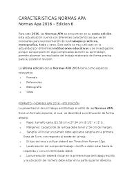 Caracteristicas Normas Apa Bibliografía Editorial