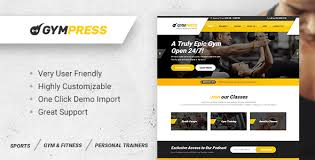 gym website design gympress wordpress theme for fitness and personal trainers by