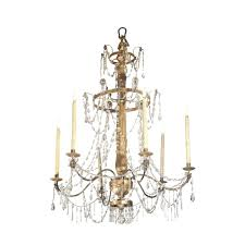 wood and crystal chandelier splendid a gilded late regarding rustic chandeli