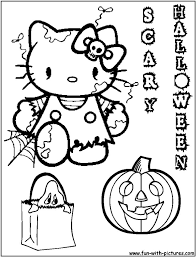 Small Picture 100 ideas Hello Kitty Halloween Coloring Pages Free Print on