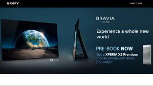 sony tv oled. pre-order sony\u0027s new bravia oled tv a1 in the uae and ksa, take home xperia xz premium smartphone! sony tv oled g