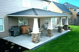 flat roof covered patio plans cover designs photos pdf flat roof covered patio plans cover designs photos pdf