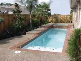 Decorating Rectangular Fair Swimming Pool Designs Small Yards