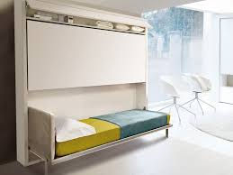 Fold away bunk bed Compact Homedit Maximize Small Spaces Murphy Bed Design Ideas