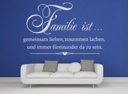 Wandtattoo Spruch Familie Ist Lieben Lachen Wandaufkleber Wa 208 In
