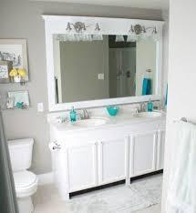 Bathroom Framed Mirrors Incredible Framed Bathroom Mirrors Also Framed Mirrors For