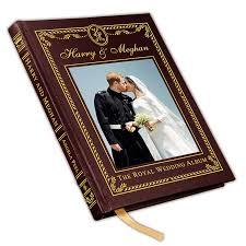 Photo Albulm Harry Meghan The Royal Wedding Album